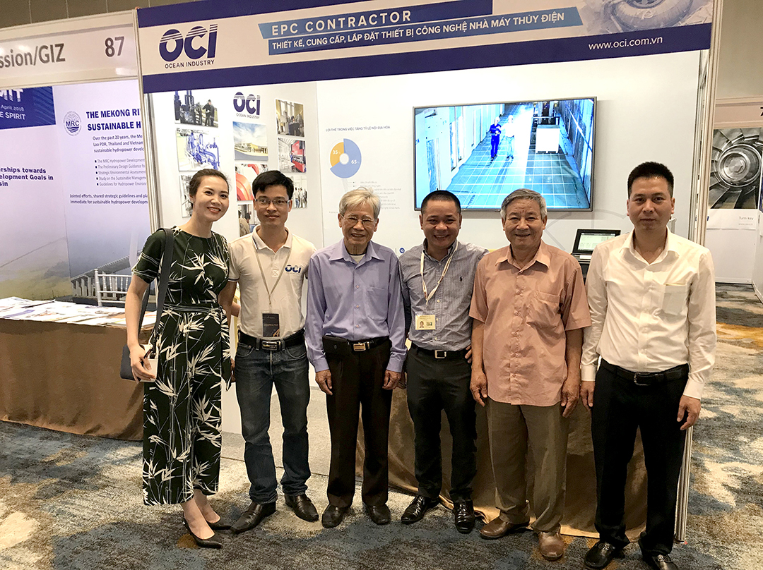 OCI team in Seventh International Conference and Exhibition on Water Resources and Renewable Energy Development in Asia 2018